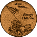 !!!!! Once a Marine...  (Officially Licensed Product of the USMC®)